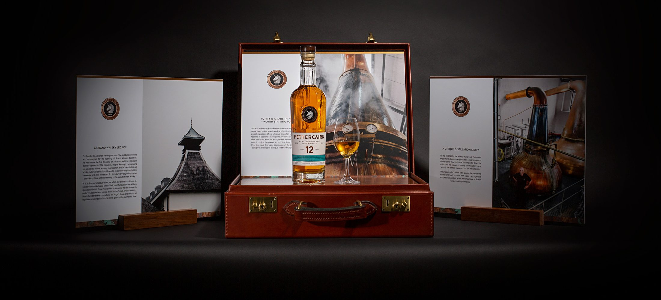 Fettercairn Whisky Brand Ambassador case